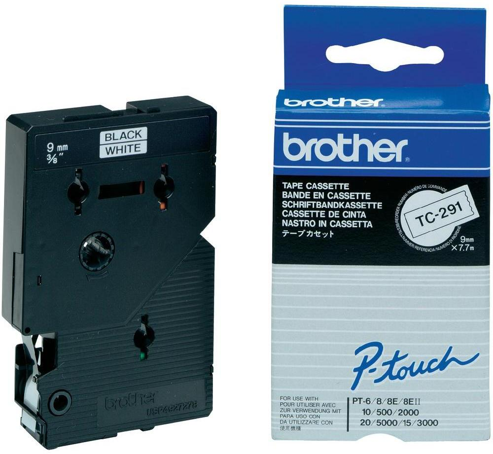 Brother TC-291 zwart