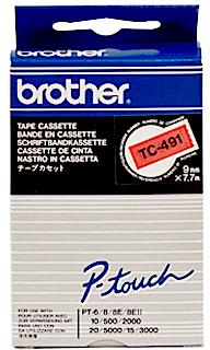 Brother TC-491 zwart