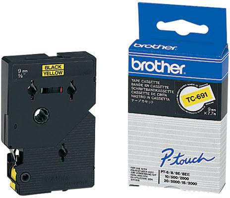 Brother TC-691 zwart