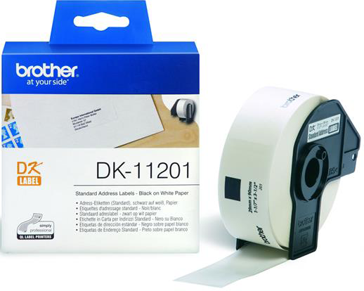 Brother  DK-11201 29 mm x 90 mm wit