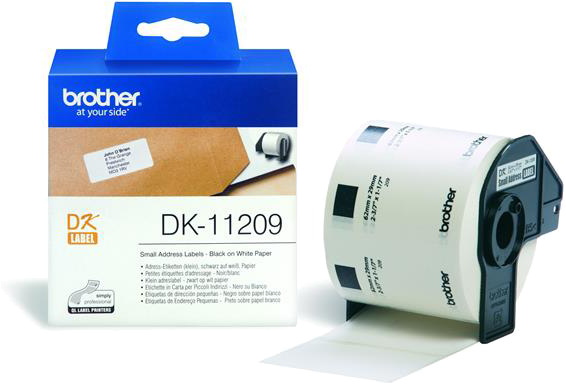Brother  DK-11209 29 mm x 65 mm119 m wit