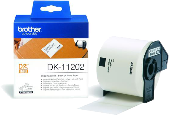 Brother DK-11202 wit