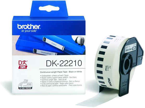 Brother  DK-22210  x 29 mm30,48 m wit