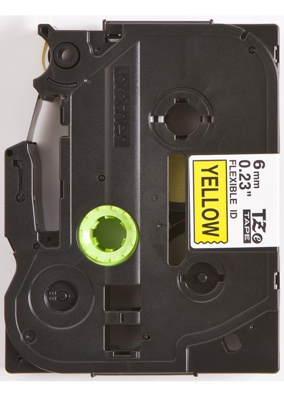 Brother TZE-FX611 flexible tape zwart