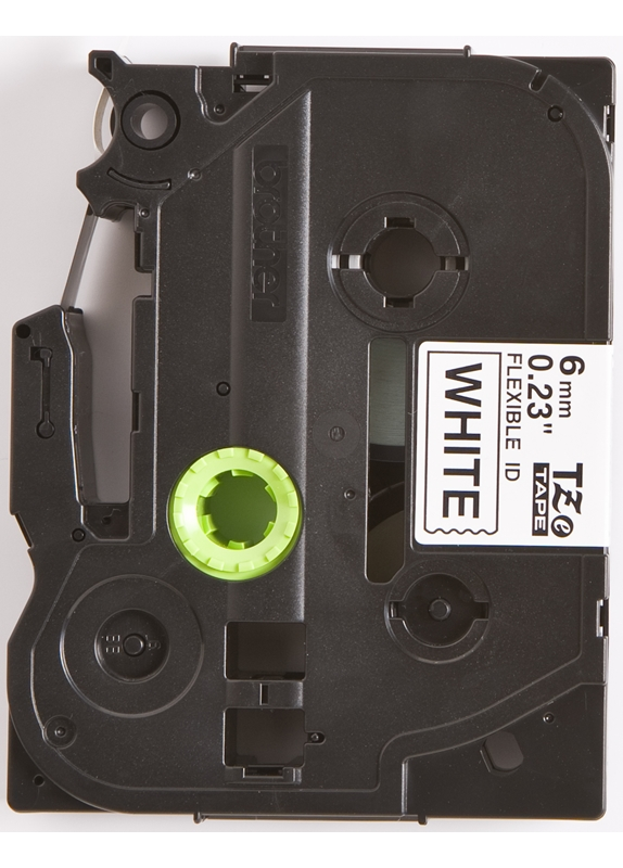 Brother TZE-FX211 flexible tape zwart
