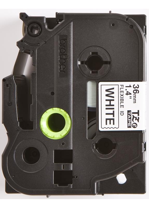 Brother TZE-FX261 flexible tape zwart