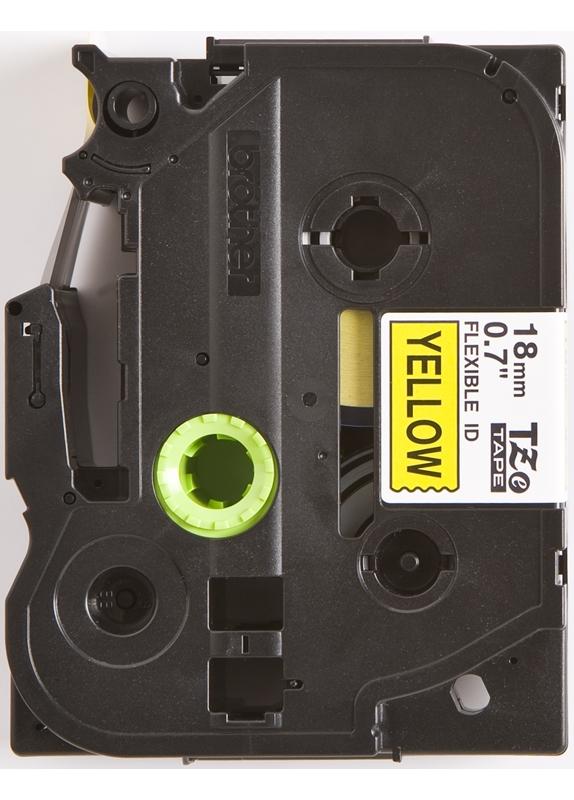 Brother TZE-FX641 flexible tape zwart
