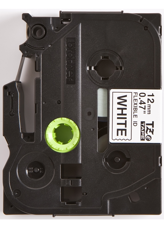 Brother TZE-FX231 flexible tape zwart