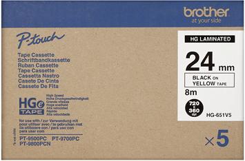 Brother HGE-651V5 zwart