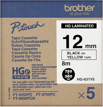 Brother HGE-631V5 zwart