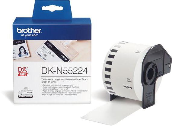 Brother DK-N55224 wit