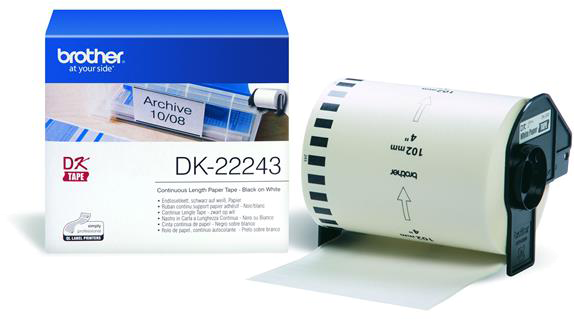 Brother DK-22243 wit