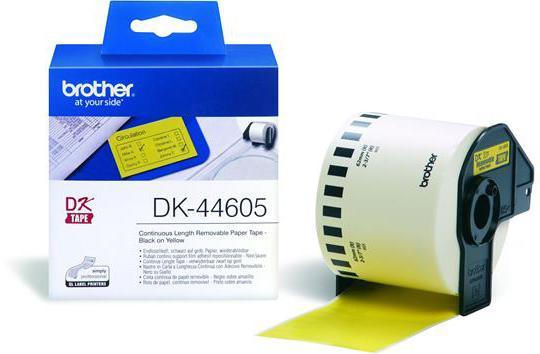 Brother DK-44605 geel