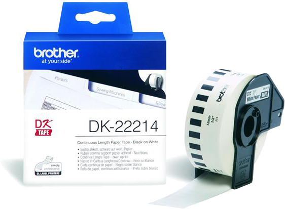 Brother DK-22214 wit