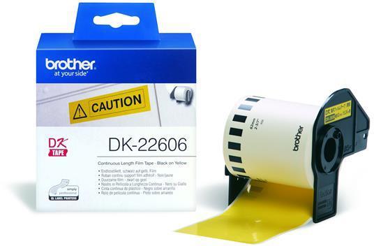 Brother DK-22606 geel