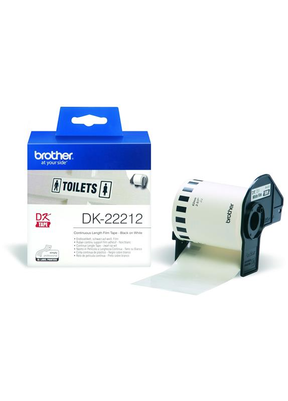 Brother  DK-22212 62 mm x  15.24 m wit