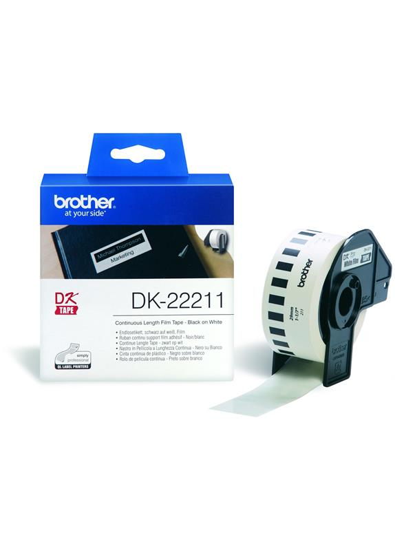 Brother  DK-22211 29 mm x  15.24 m wit