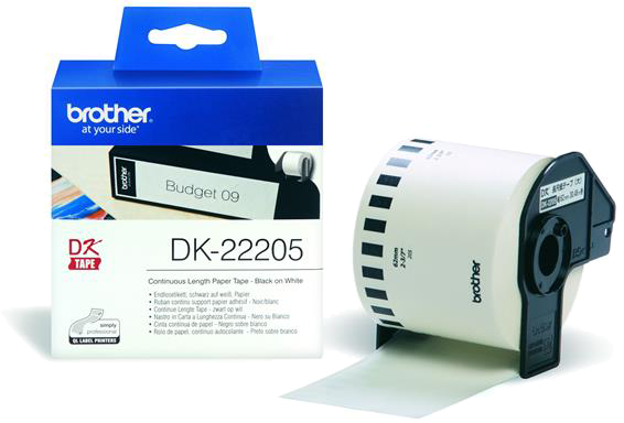 Brother  DK-22205 62 mm x  30.48 m wit