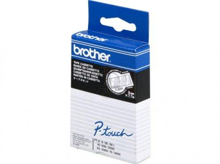 Brother  TC-195 wit op transparant breedte 9 mm