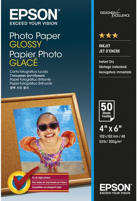 Epson S042547 Fotopapier 10x15 CM wit