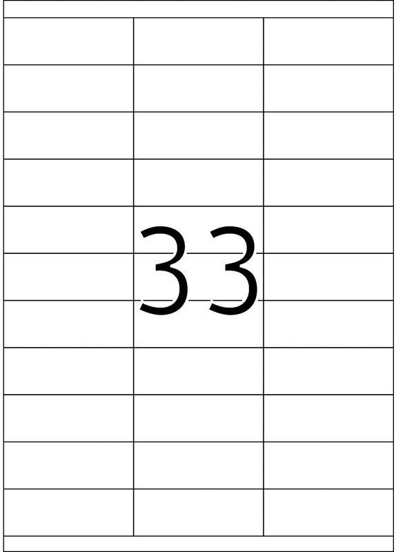 Herma 4455 70x25,4MM