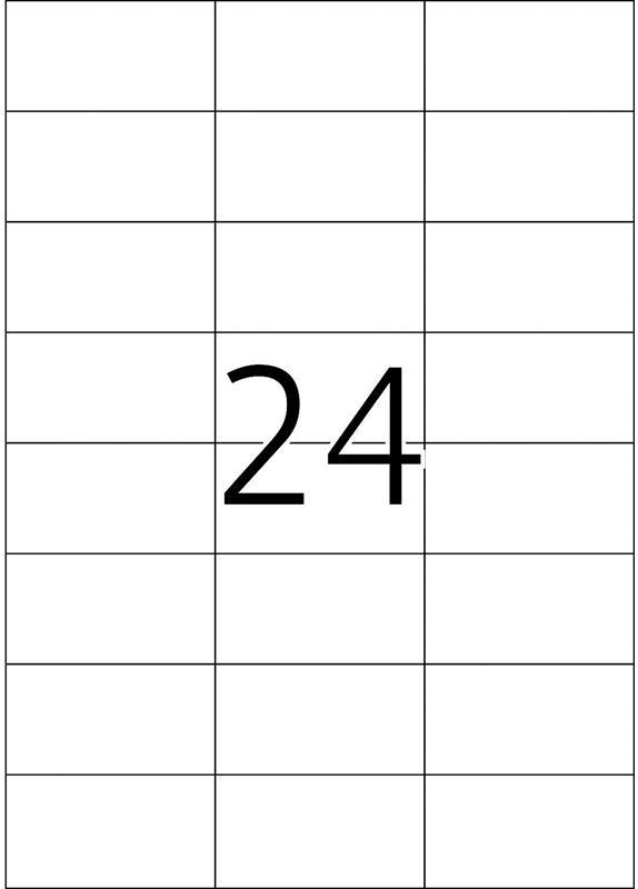 Herma 4464 70x37 mm