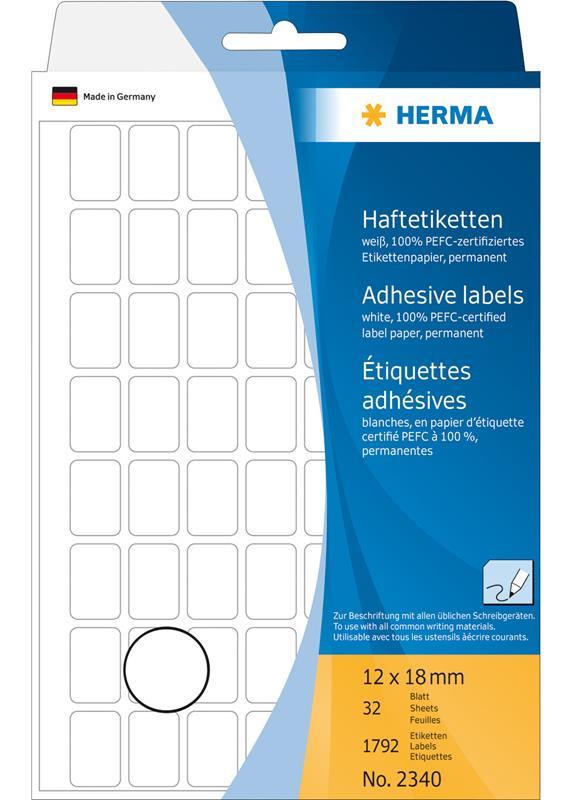 Herma 2340 12x18MM