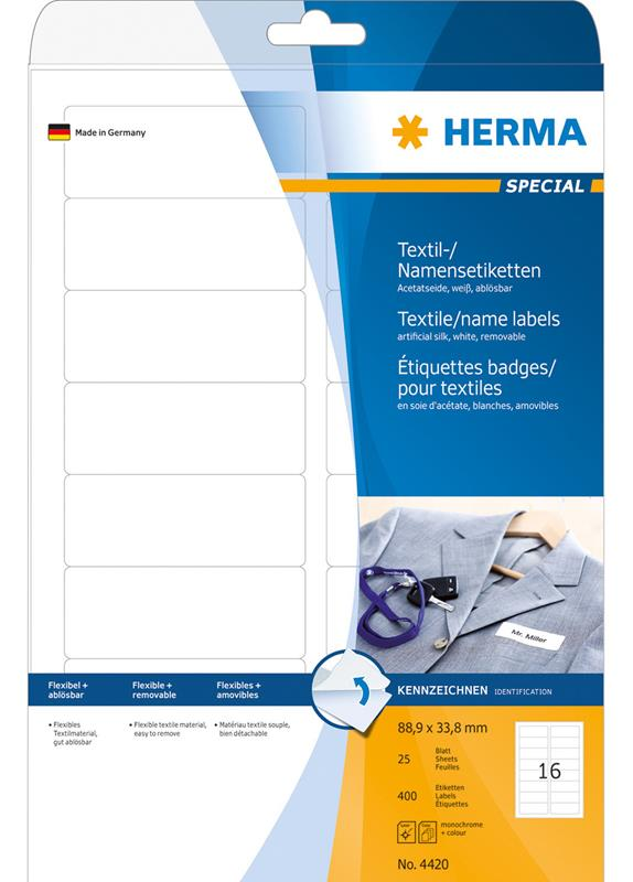 Herma 4420 88.9x33.8MM