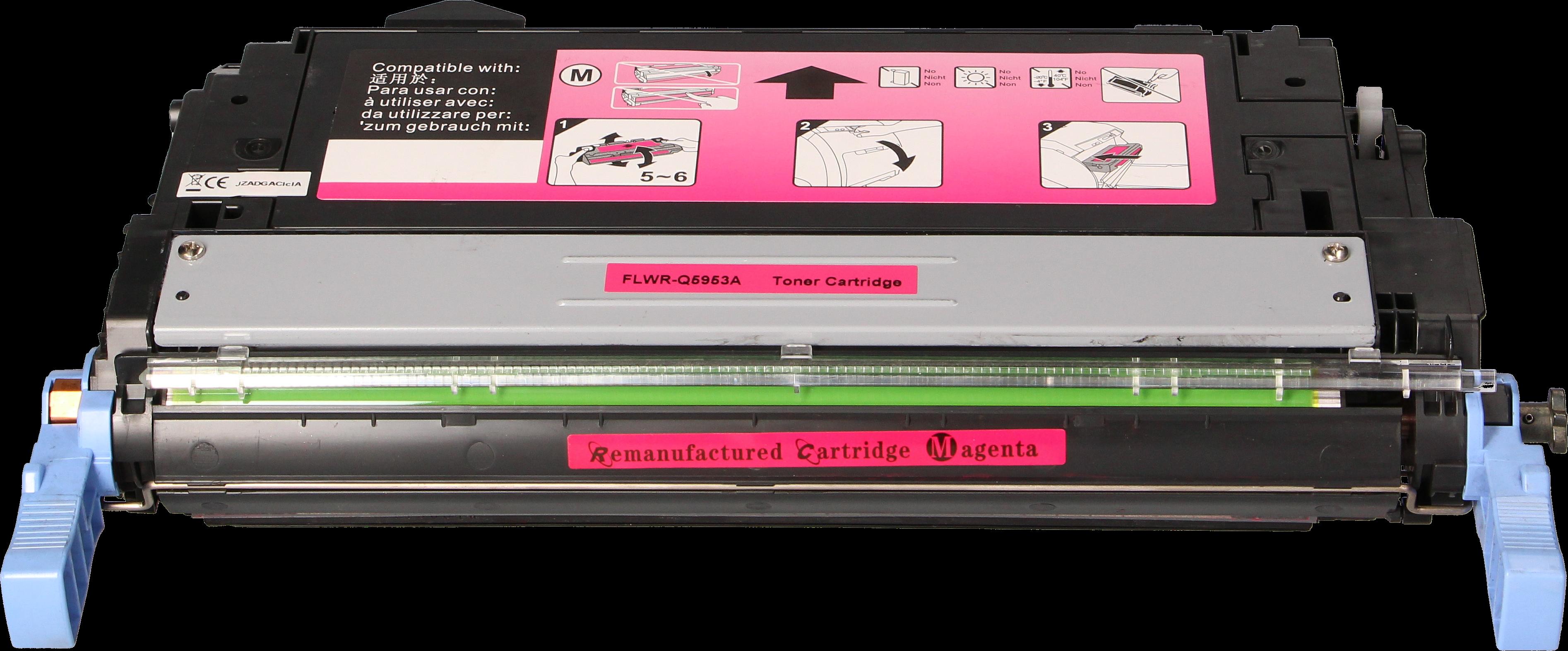 Huismerk HP 643A magenta