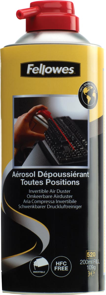 Fellowes luchtdrukspray 2-Pack
