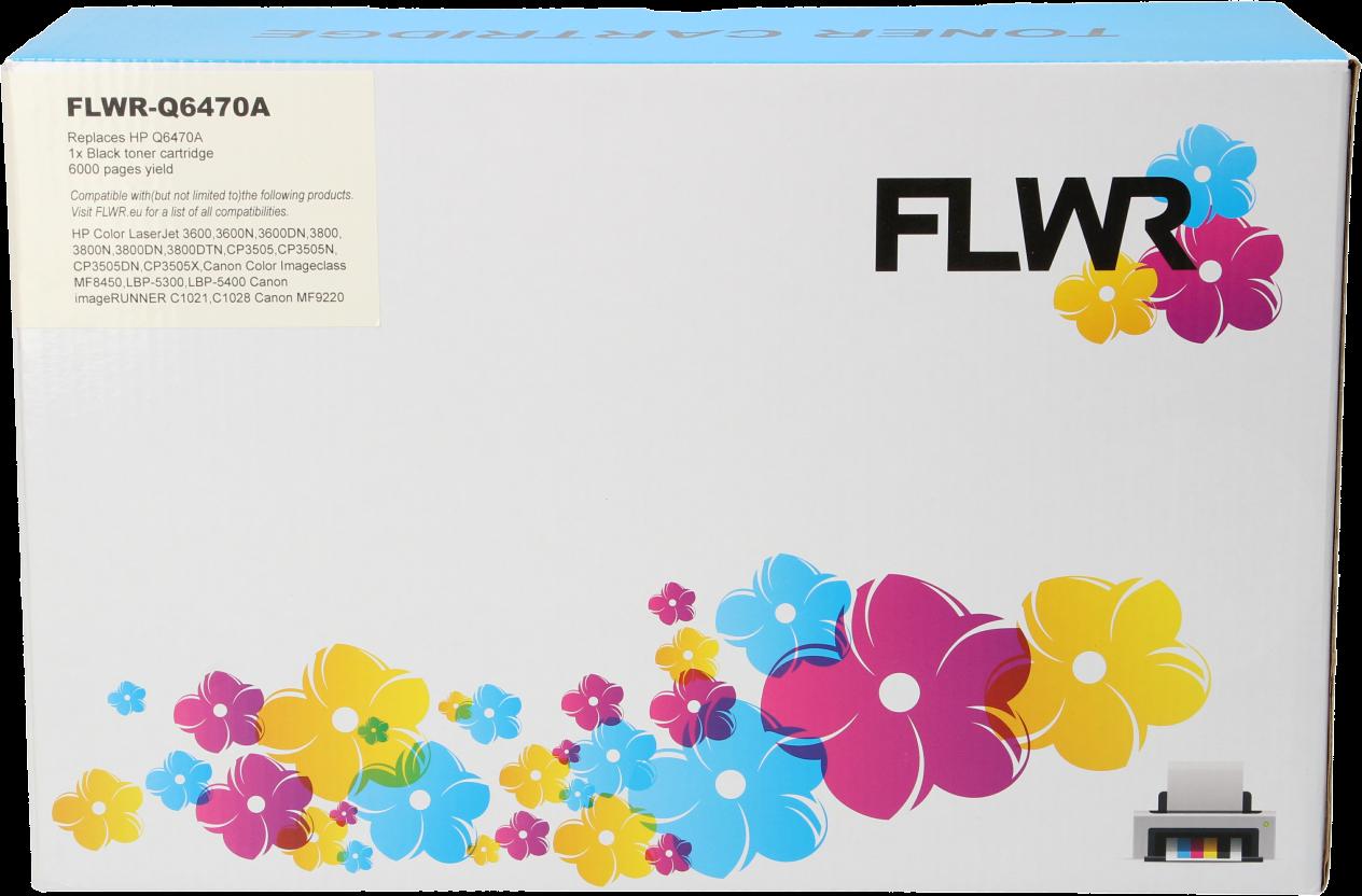 FLWR HP 501A zwart