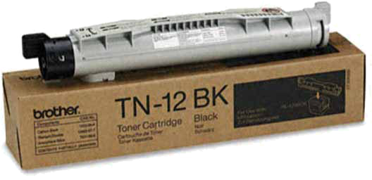 Brother TN-12BK zwart