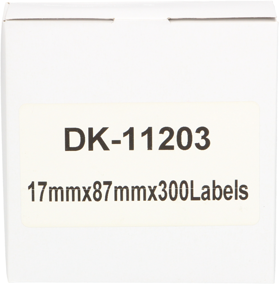 Huismerk Brother DK-11203 wit