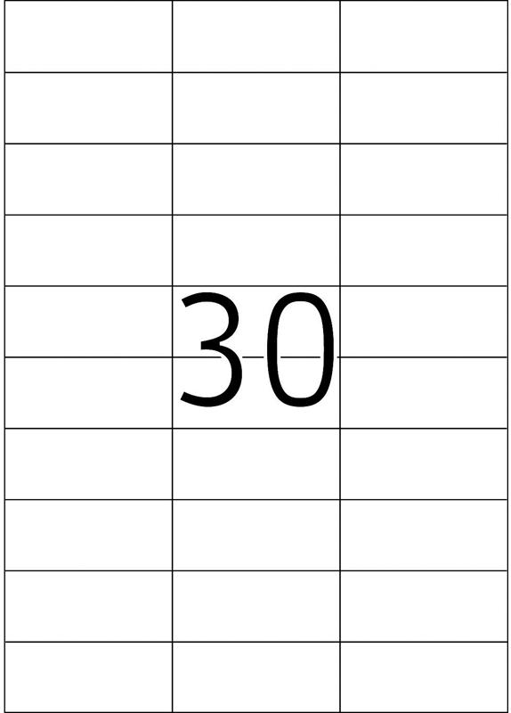 Herma 4456 70x29,7MM
