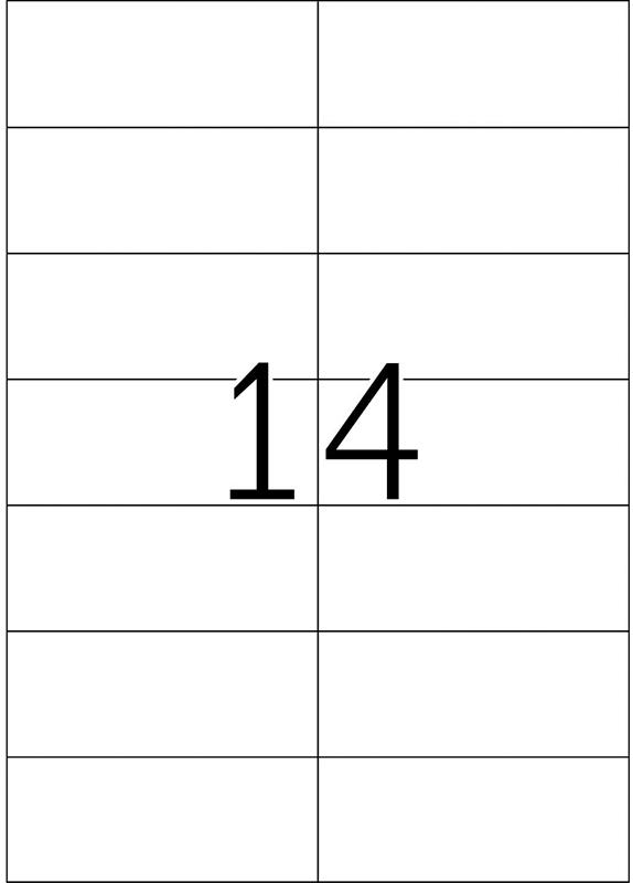 Herma 4674 105x42,3 mm