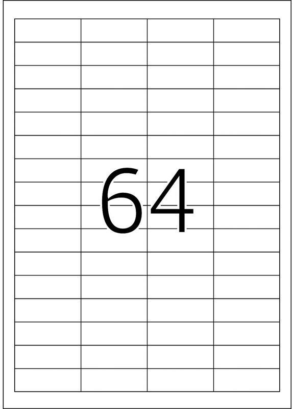 Herma 4271 48,3x16,9MM