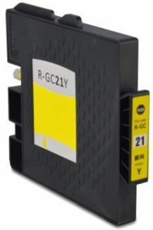 Huismerk Ricoh GC-21Y geel