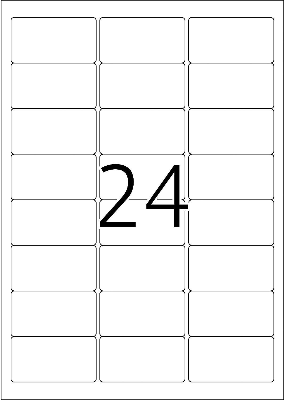 Herma 4645 63,5x33,9 mm