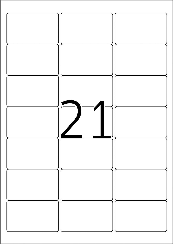 Herma 10822 63,5x38,1 mm