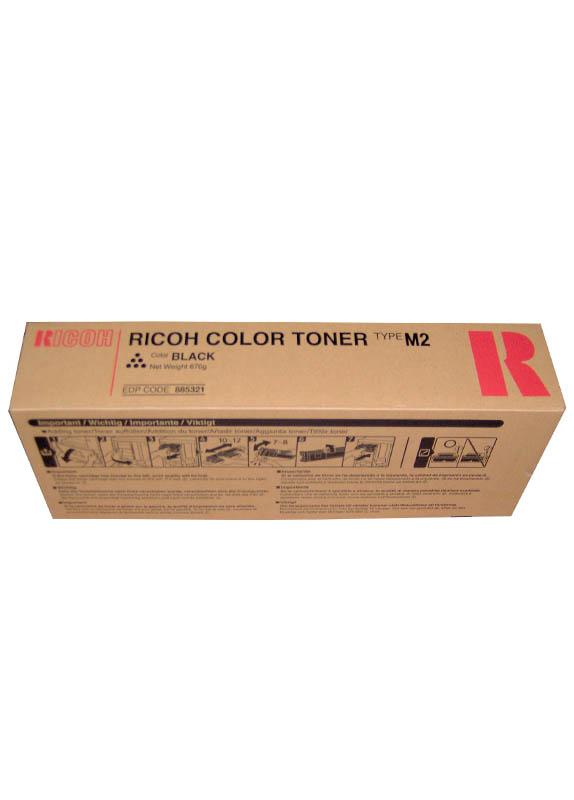Ricoh Type M2 BK (toner) zwart