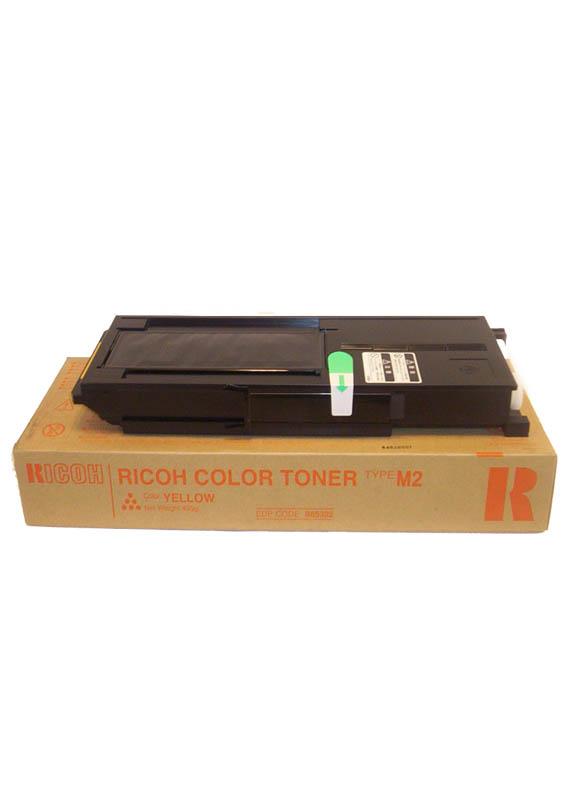 Ricoh Type M2 Y(toner) geel