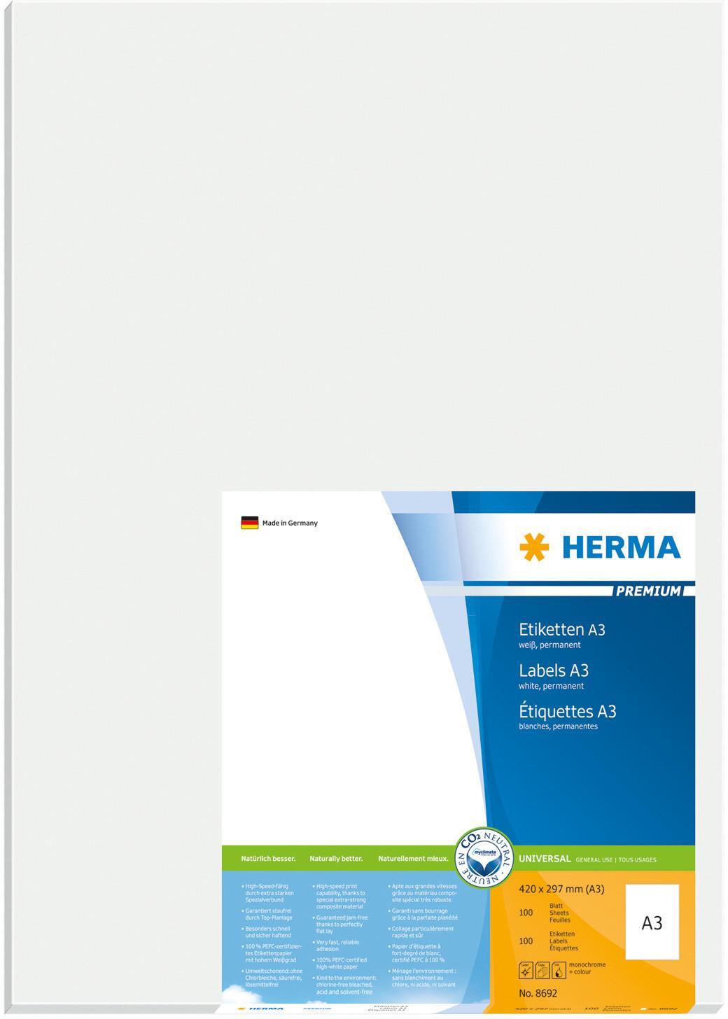 Herma 8692 297x420MM