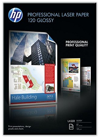 HP CG969A Professional glossy A3 Laser fotopapier (120 grams)