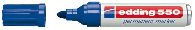 Edding 550 Permanentmarker blauw