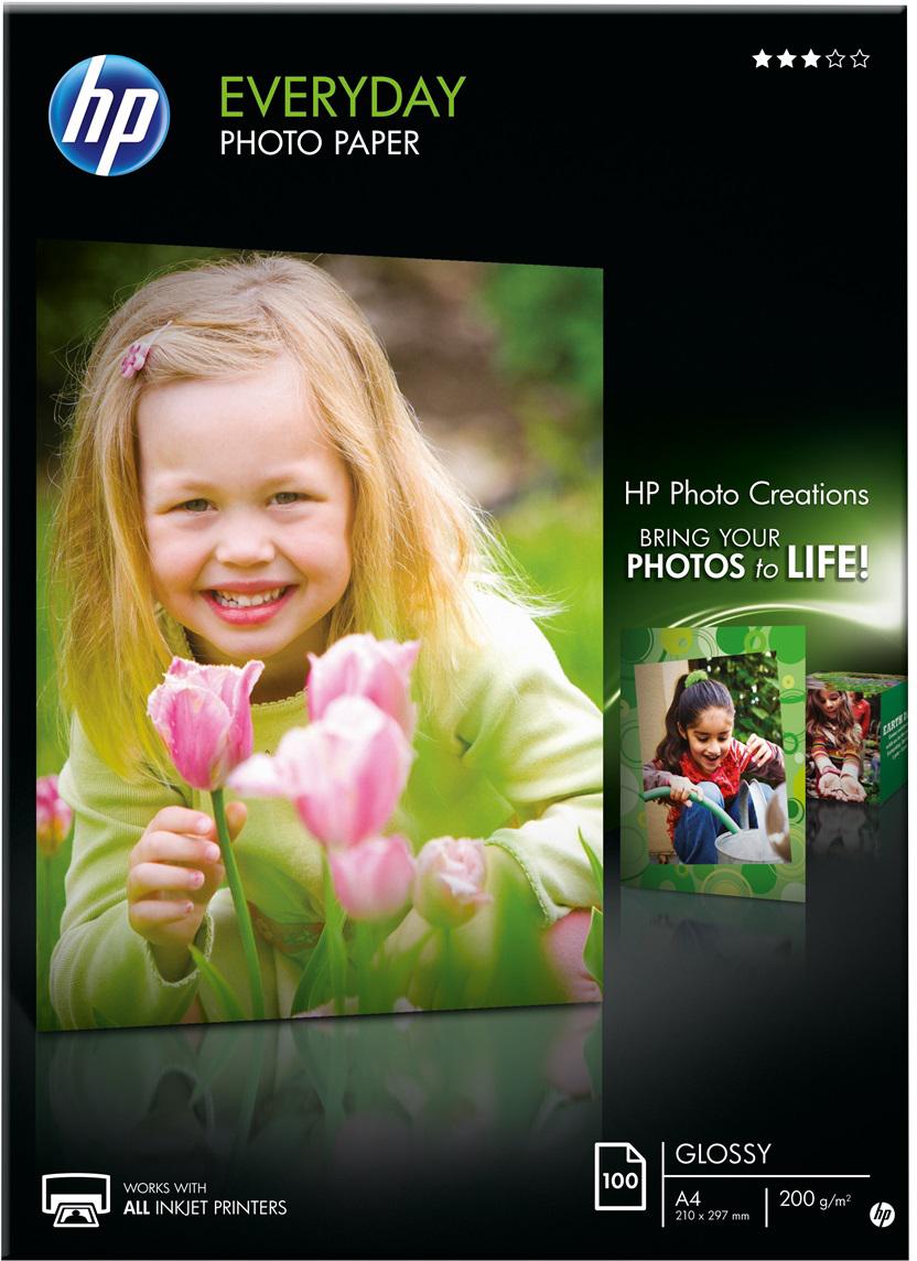HP  Everyday fotopapier Glans | A4 | 200 gr/m² 100 vellen