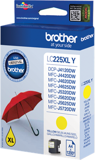 Brother LC-225XLY geel