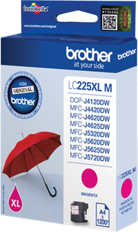Brother LC-225XLM magenta