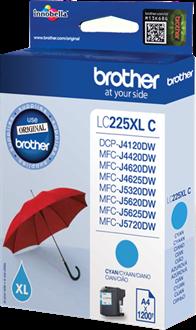 Brother LC-225XLC cyaan